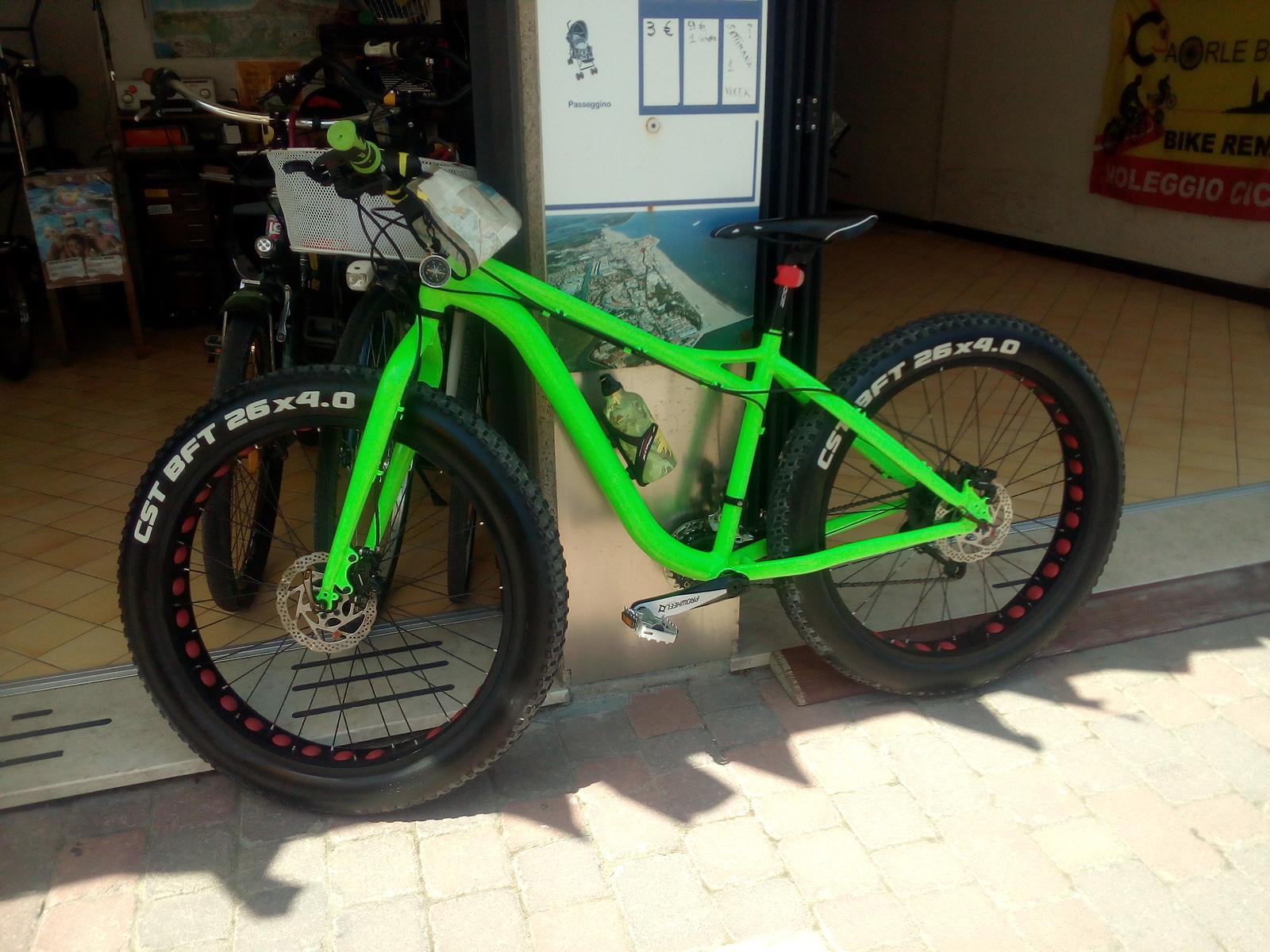 Caorle Noleggio Cicli Caorlebike Bike Rental Risciò